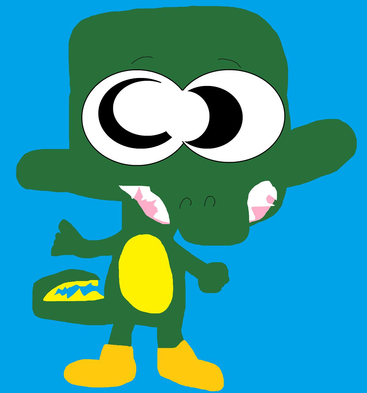 Just Another Cute Random Gatortales Green Gator by Falconlobo