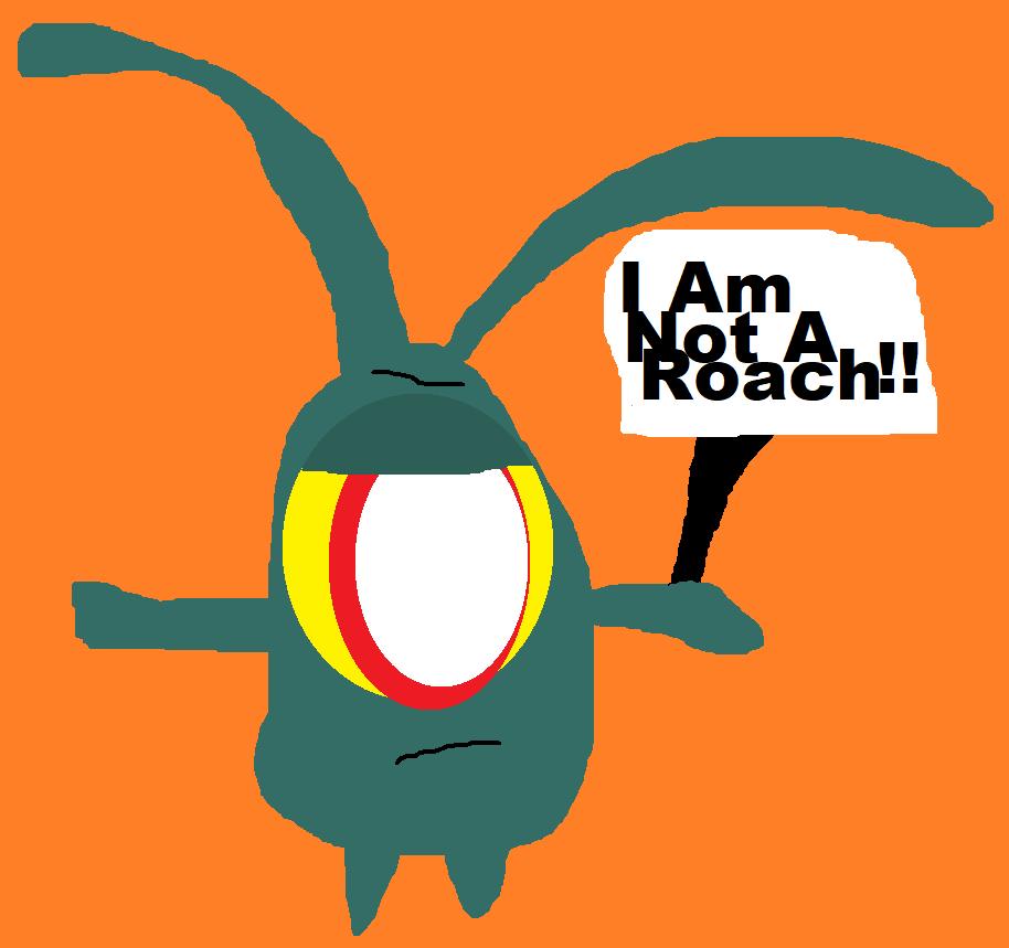 I Am Not A Roach Again^^ by Falconlobo