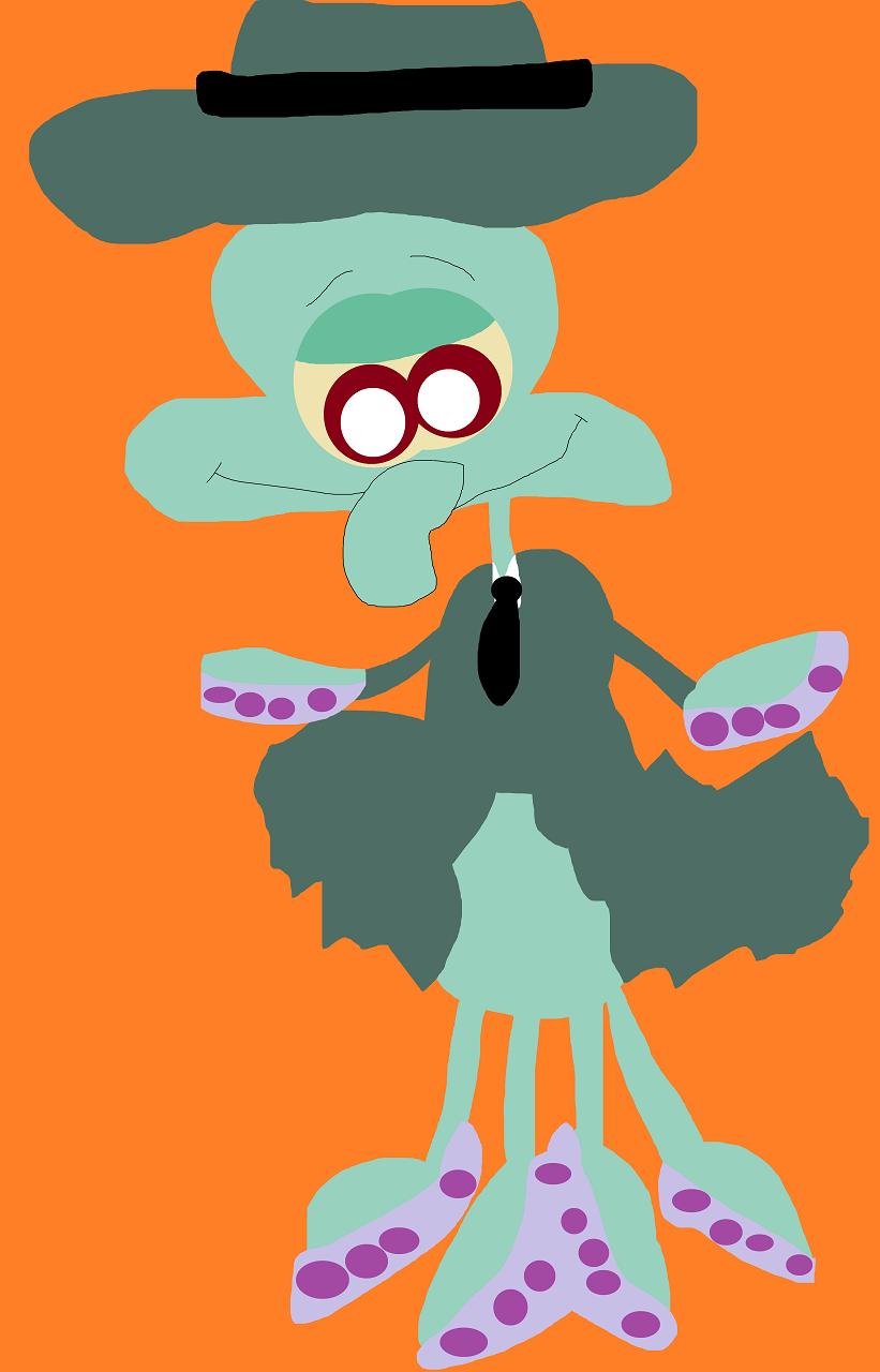 Random Squid Noir by Falconlobo