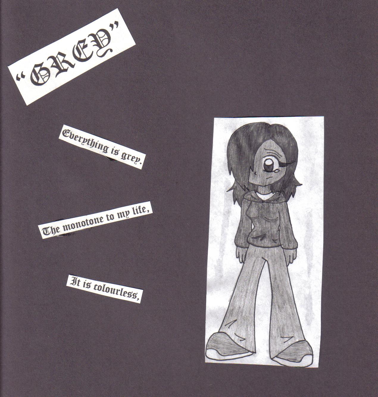"Grey"" -Haiku Poem by FallingRaindrops"