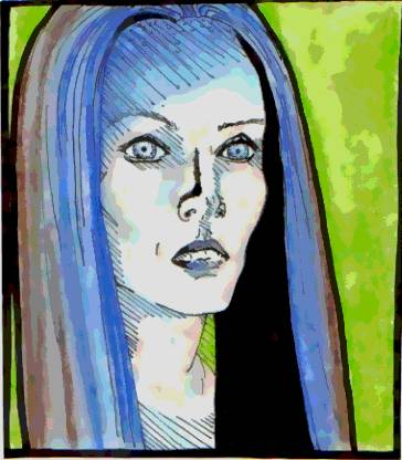 Illyria, confused face by Falthee
