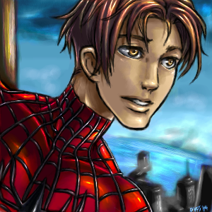Peter Parker (Ultimate Spider-man) by Famira