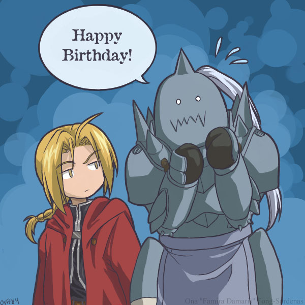 FMA Certified Happy Birthday by Famira