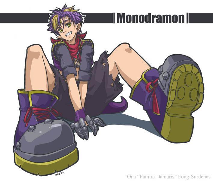 Gijinka Monodramon by Famira