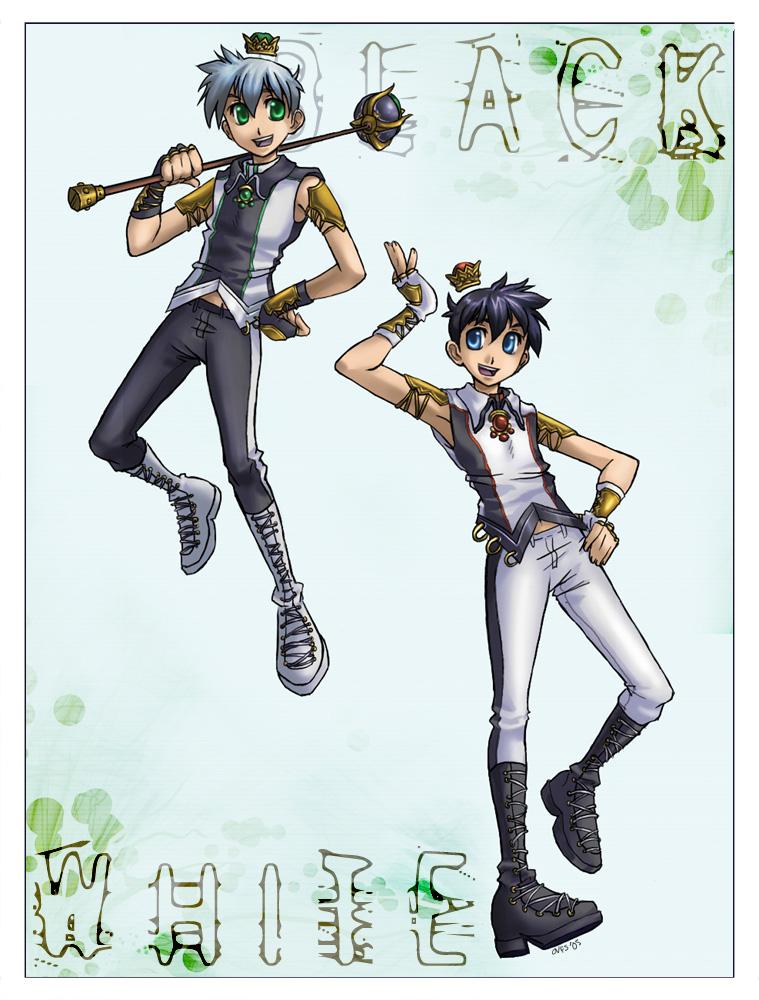 The Twin Kings by Famira