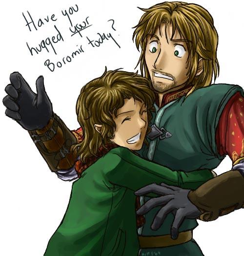 Give Boromir a Hug! by Famira
