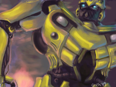 Transformers - Bumblebee by Famira
