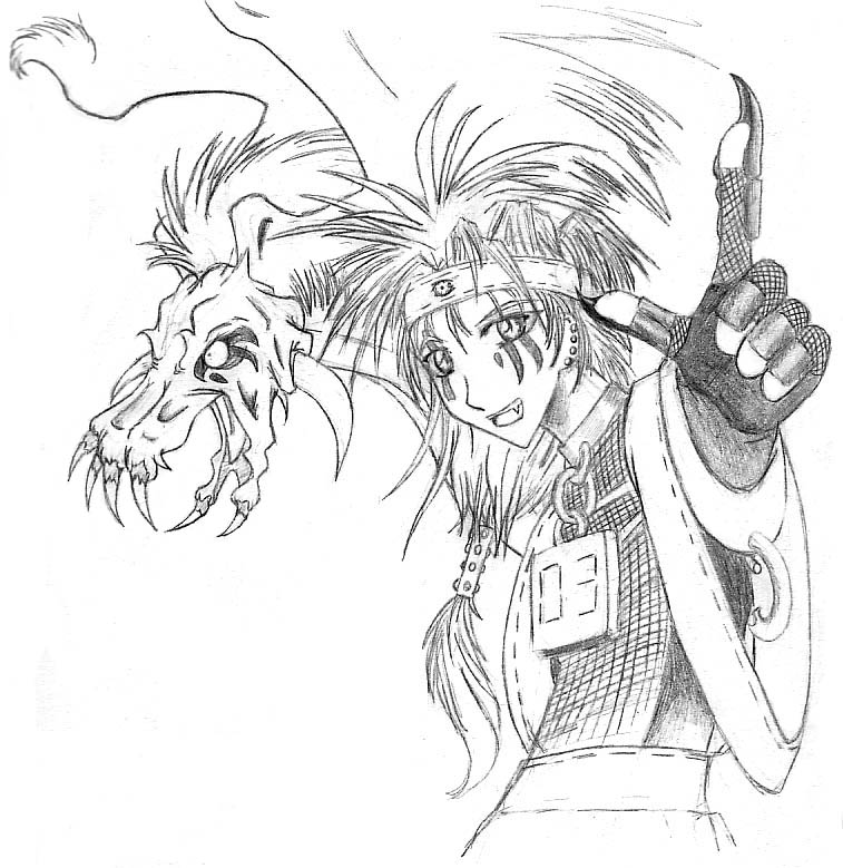 Beast of Blood (Kaminmon) by Famira
