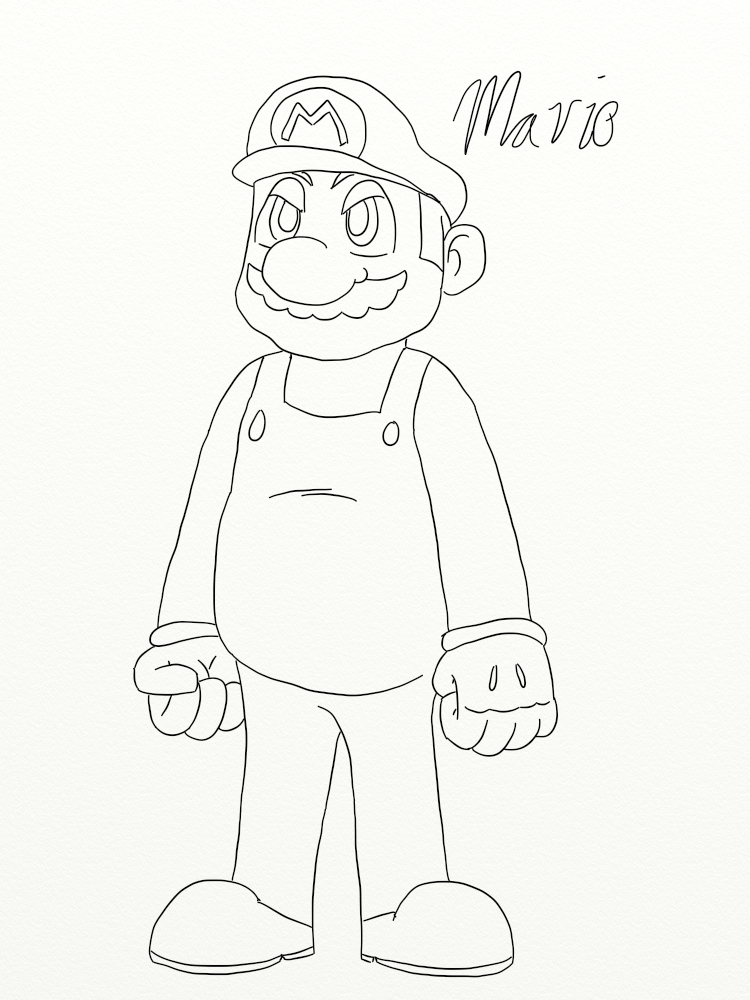 Simply Mario by Feath