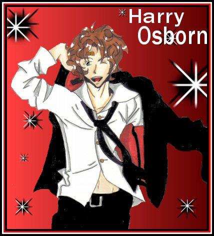Harry Osborn by FeiFeiKara