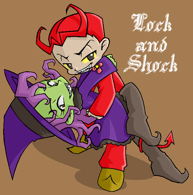 lock and shock by FeydRautha