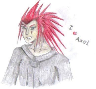 Axel by Finalkingdomheartsfantasy
