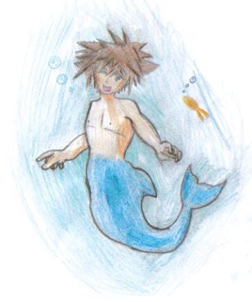 Underwater Sora by Finalkingdomheartsfantasy