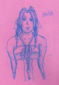 Aerith by Finalkingdomheartsfantasy