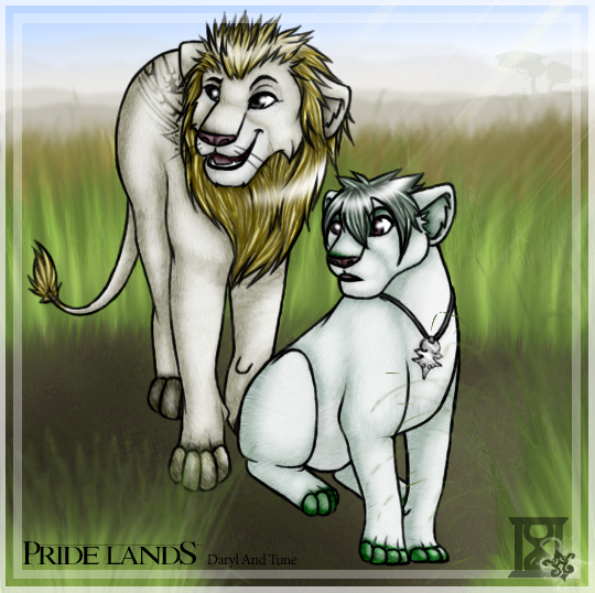 Pride Lands - Daryl and Tune by Finalkingdomheartsfantasy