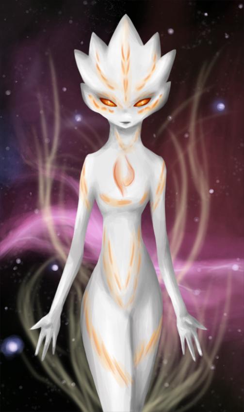 Kamikaze the alien by FireAnne