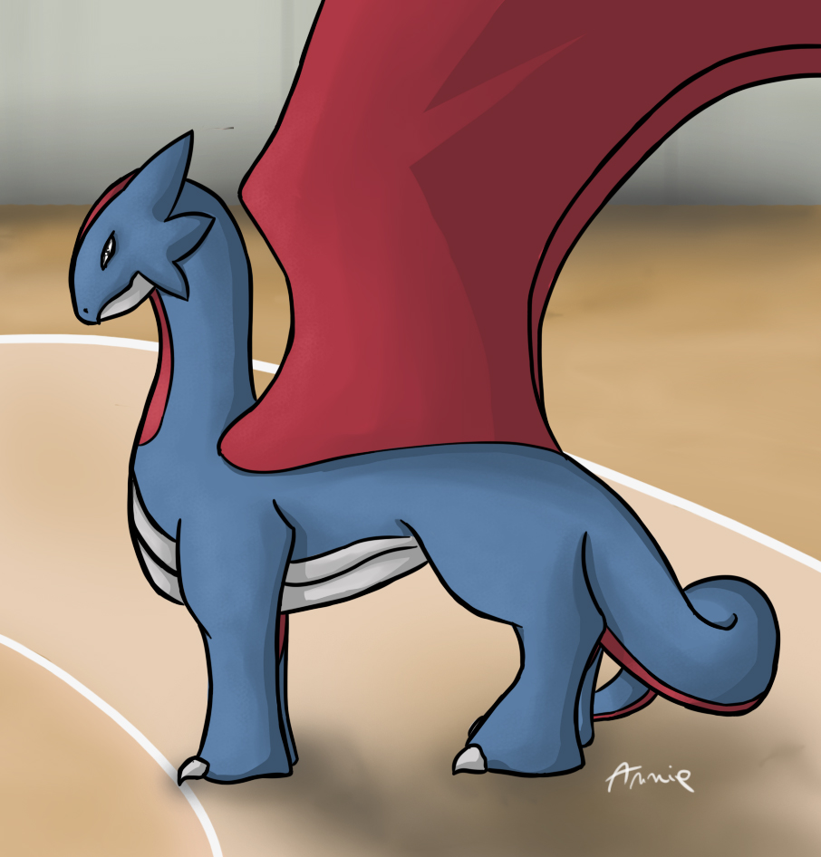Salamence the dragon by FireAnne