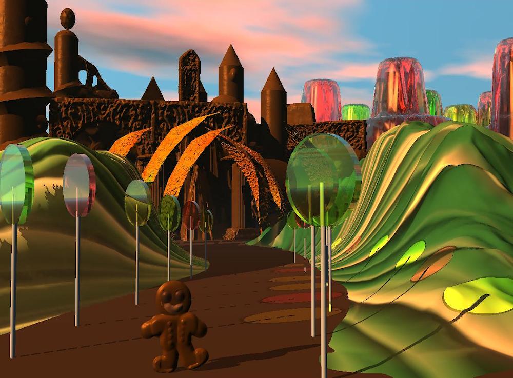 Candy Castle by Firiel