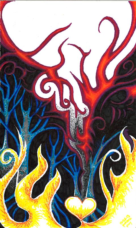 Heartflame by Firiel