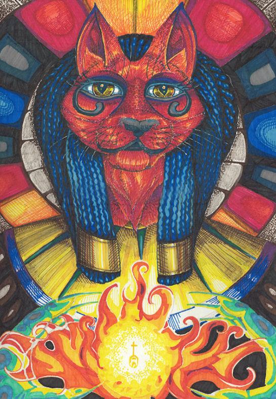 Flame-bearer by Firiel