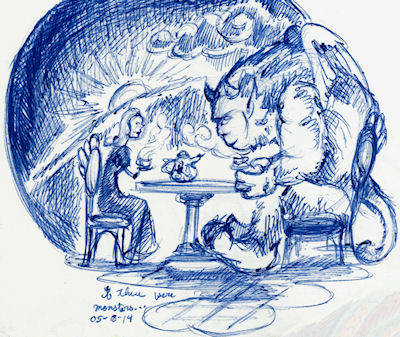 Tea With Monsters by Firiel