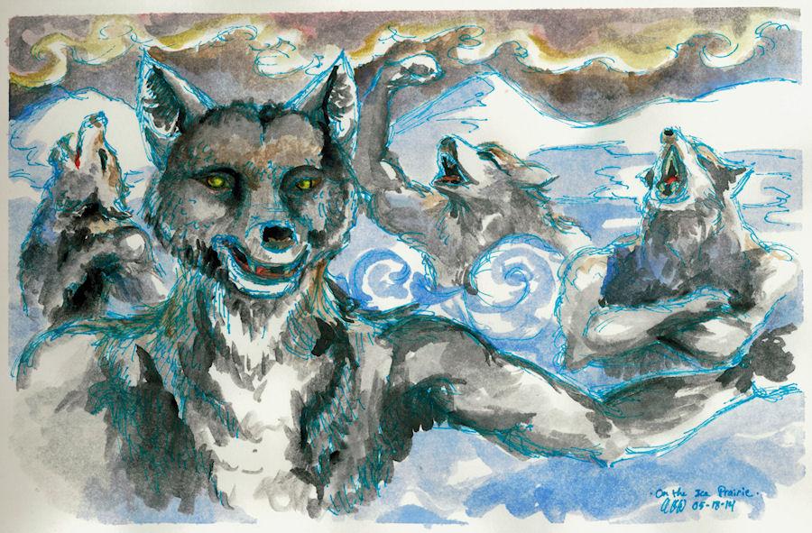 On the Ice Prairie by Firiel