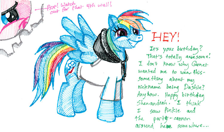 Birthday Ponies by Firiel