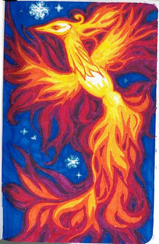 Phoenix (marker) by Firiel