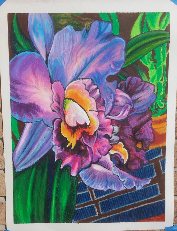 Luminous Orchid by Firiel