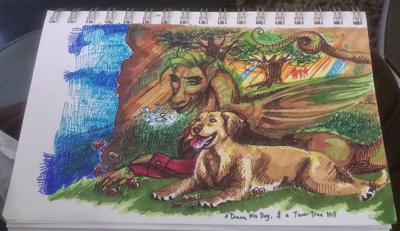 the dragon's dog by Firiel