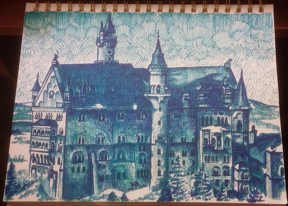 Neuschwanstein by Firiel