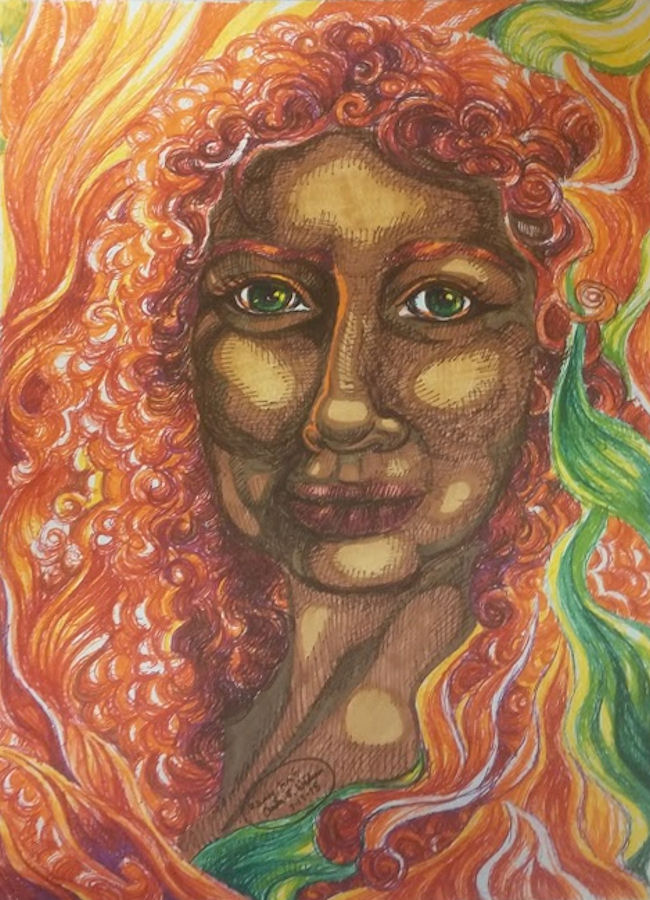 Fiery Lady by Firiel