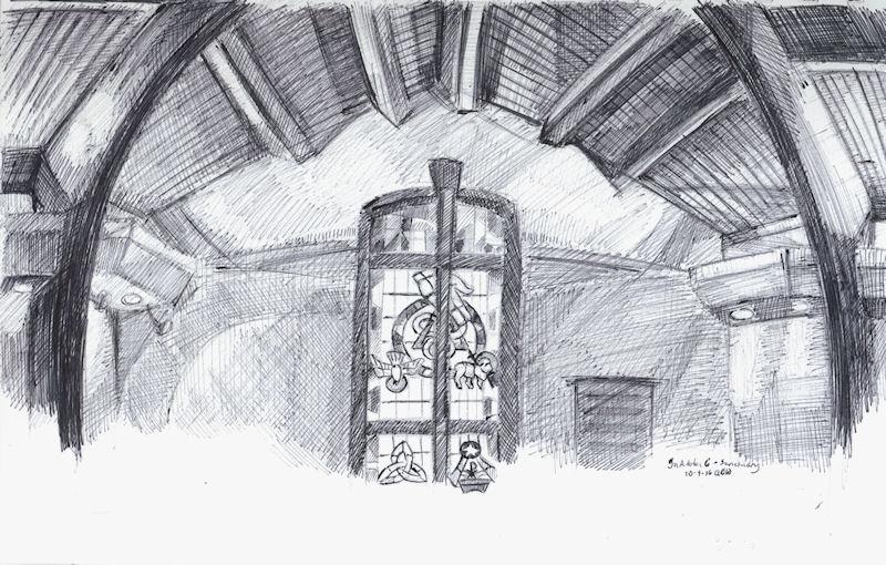 inktober6 - sanctuary by Firiel