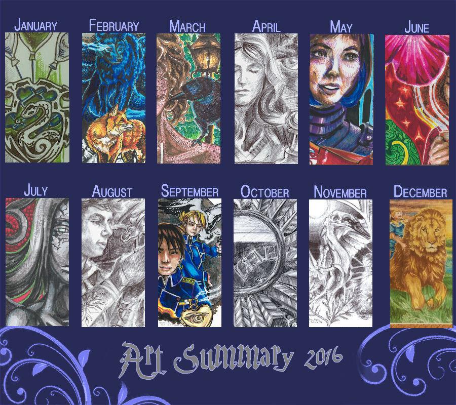 2016 Art Summary by Firiel
