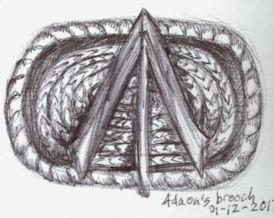 Adaons Brooch by Firiel