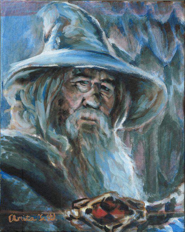 Gandalf Greyhame by Firiel