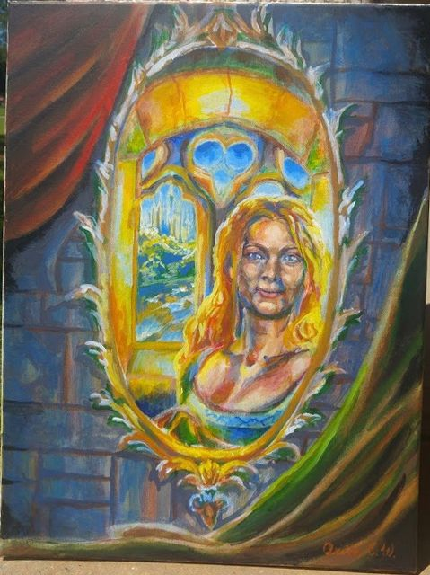 The Lady's Mirror by Firiel