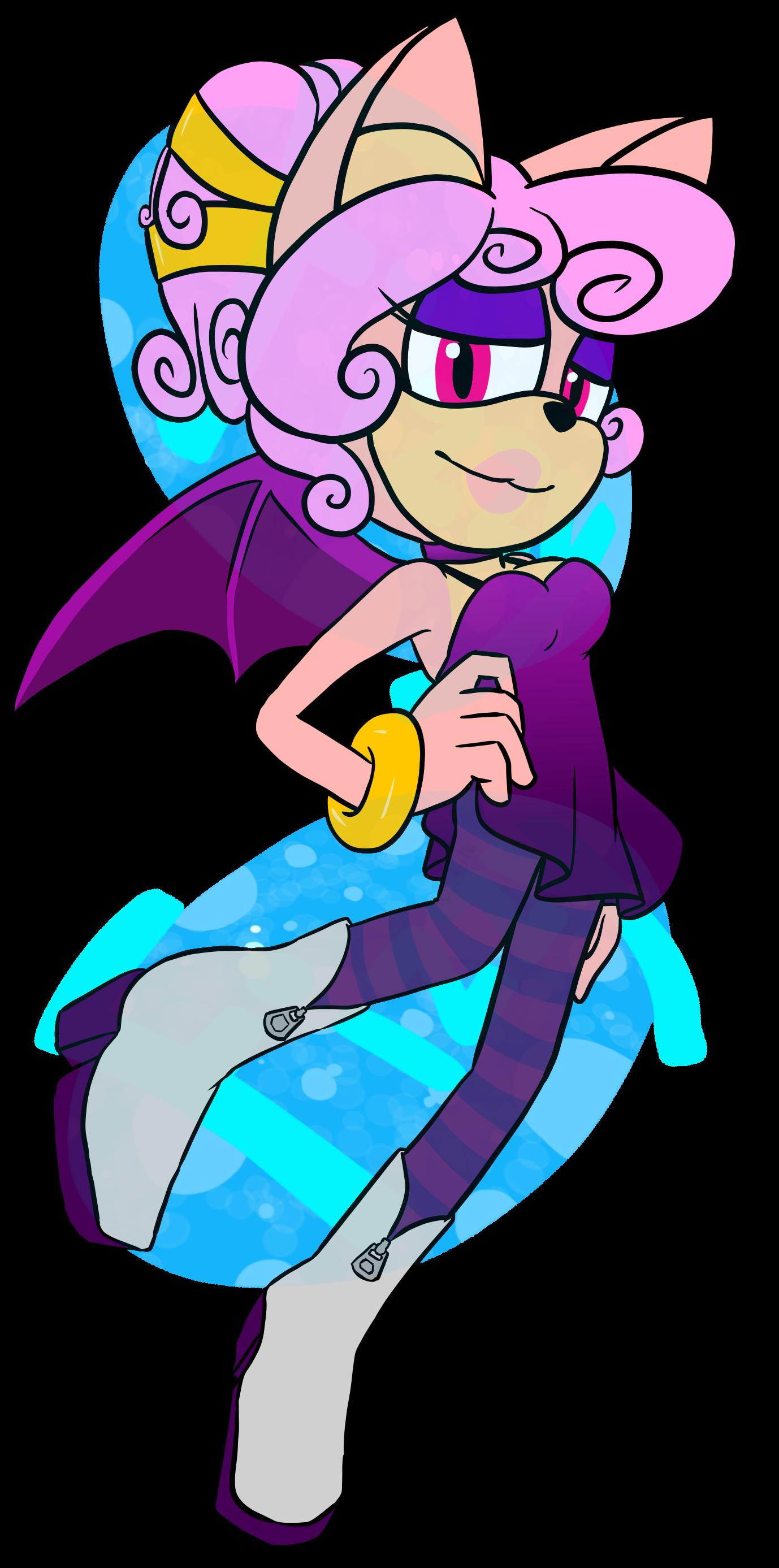 """Melona """"Mel"""" the Bat by FizzyBubbleTea"""