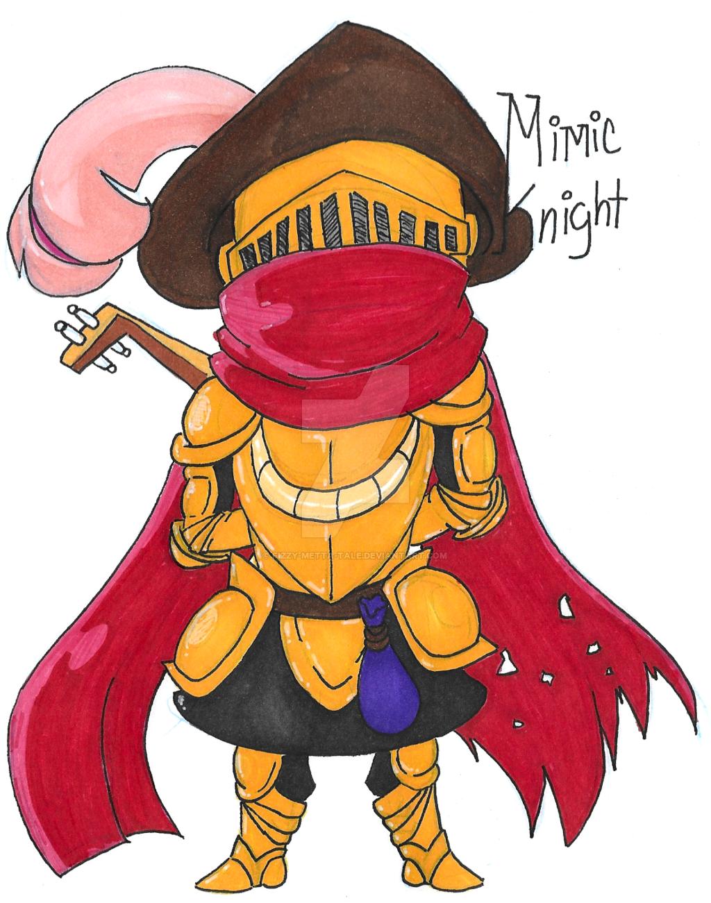 Mimic Knight by FizzyBubbleTea