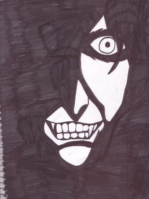 Smiling Alucard by FlameAlchemist