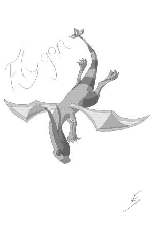 Flygon by FlameShadow