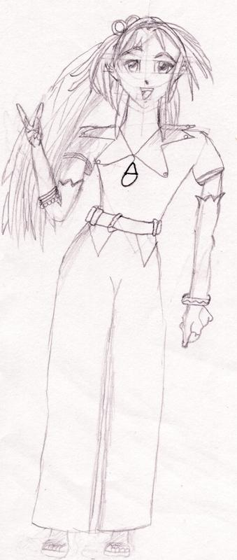 Arche (uncolored by Flame_Beauty