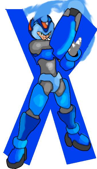 Megaman X from Megaman Zero by FlippyFulez