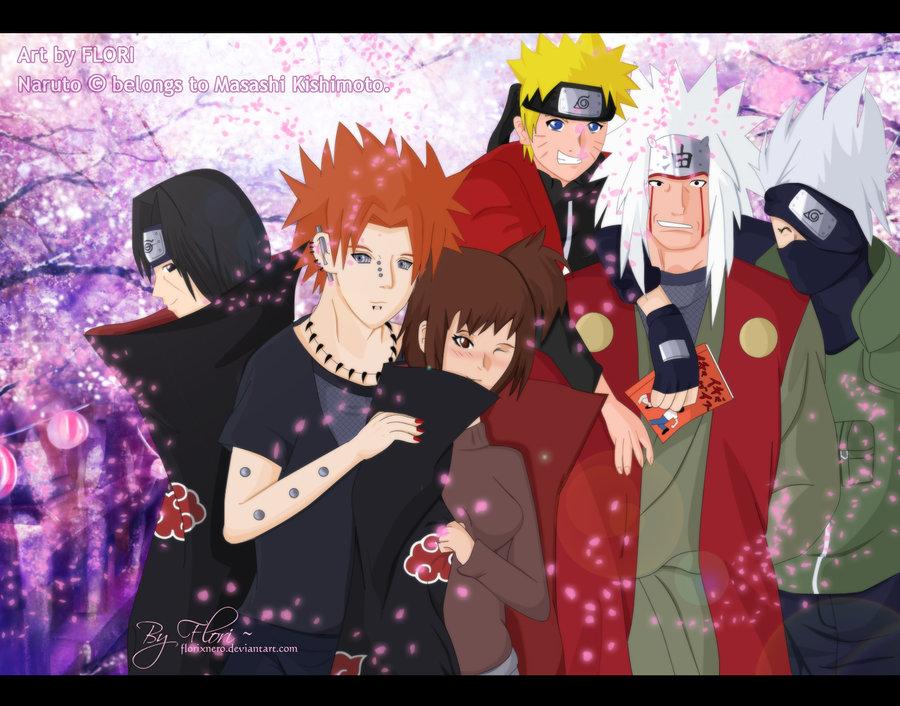 Me and my fav Naruto Guys by Flori-Hatake