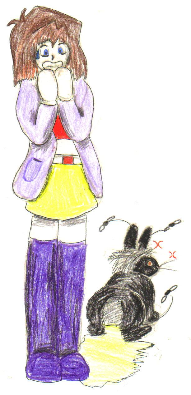 Tea gets it from my rabbit! by Fluffybunny