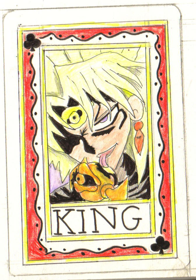 Yami Malik: The king of Clubs by Fluffybunny