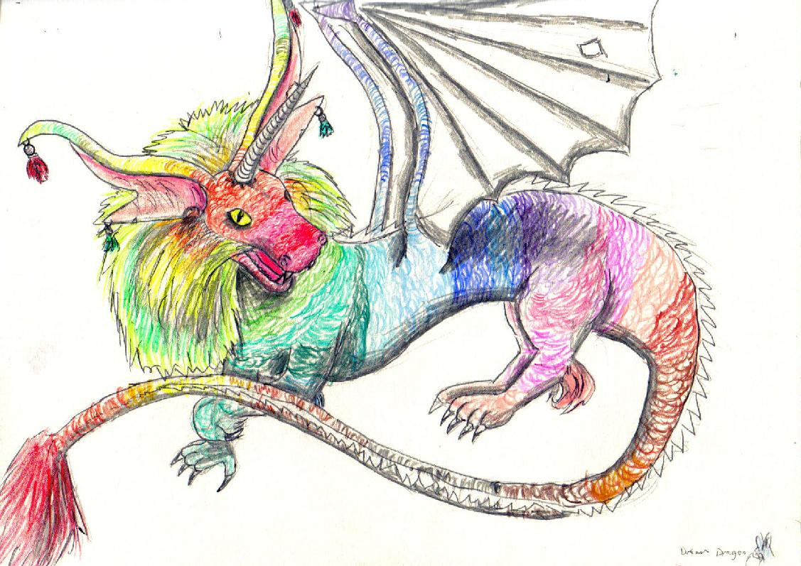 Dream Dragon by Fluffybunny