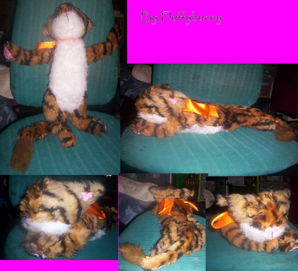 my plushie Liger cub! by Fluffybunny