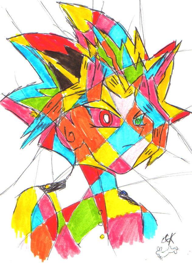 A Technicolour Yami! by Fluffybunny