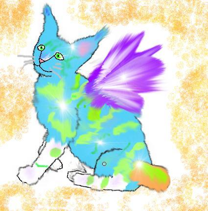 Bobert: puff bubble's kitty by Fluffybunny